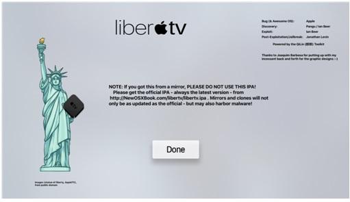 liberTV Jailbreak