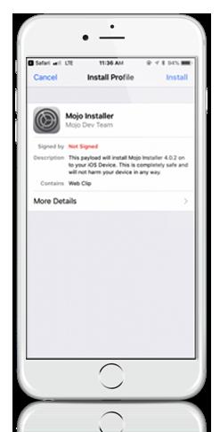 mojo installer app